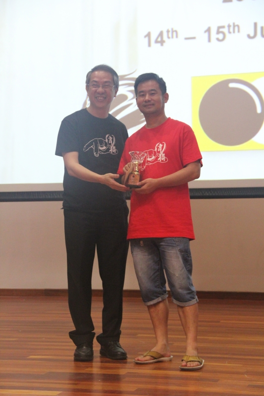 Dan Level 2nd Runner-up: Shi Min le