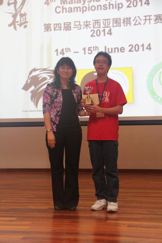 High Kyu Champion: Chong Wei Quan