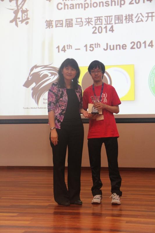 High Kyu 1st Runner-up: Chong Yew Wei