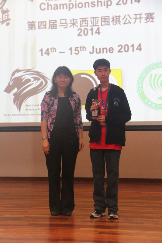 Intermediate Kyu 1st Runner-up: Lin Sherson