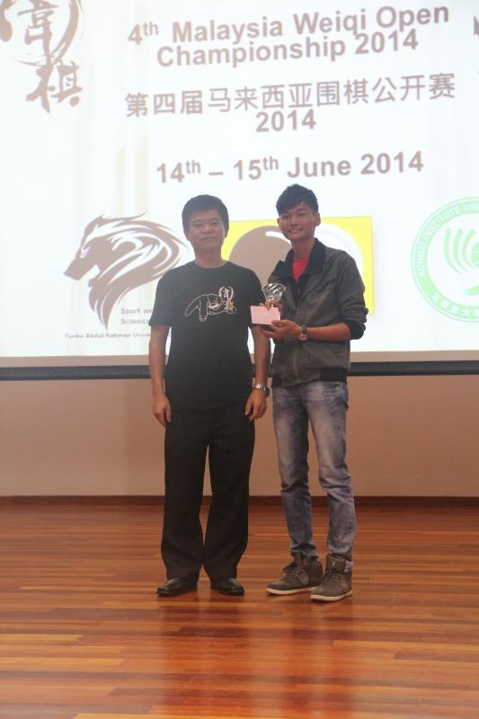 Tarcian Group 2nd Runner-up: Ong Eng Hui