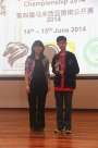 Intermediate Kyu 1st Runner-up: Lin Sherson