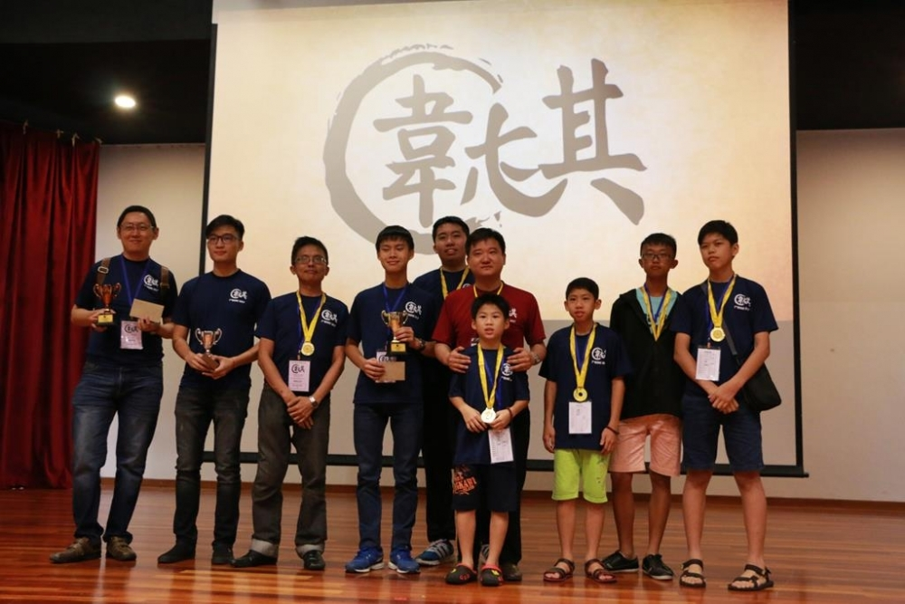 高级组 High-Kyu Category